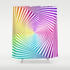 Twista Colour Shower Curtain