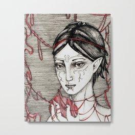 Merrill: ball of twine Metal Print