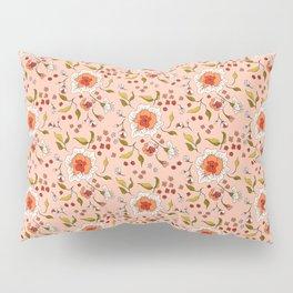Floral Rose in Peach 0031 Pillow Sham