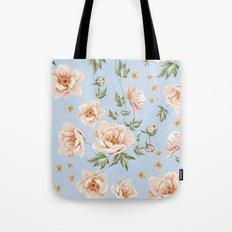 Vintage Floral - Pattern 02 Tote Bag