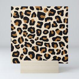 Sand Leopard Mini Art Print