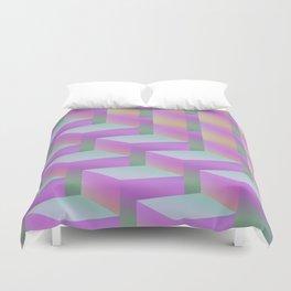 Fade Cubes II Duvet Cover
