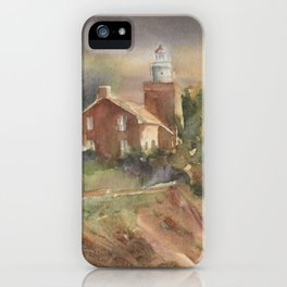 Big Bay Point Lighthouse iPhone Case