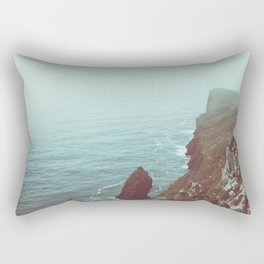 Faded Beach Rectangular Pillow