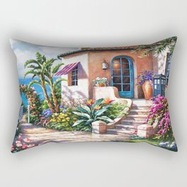 Tradis Art At The Beach House Rectangular Pillow