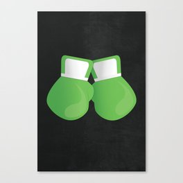 Super Punch Out!!! - LIttle Mac's Gloves Canvas Print