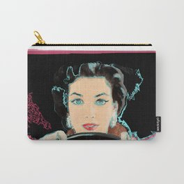 Female Driver Pop Art Carry-All Pouch