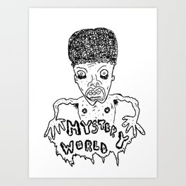 Mystery World Art Print