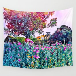 'She is at a Place in her Life that Peace is her Priority and Negativity Cannot Exist' Wall Tapestry