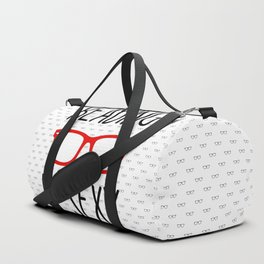 Reading is sexy Duffle Bag