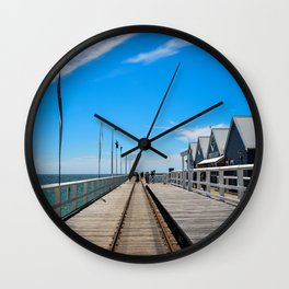 Busselton Jetty Wall Clock