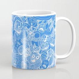 Animalesque - Blue Coffee Mug