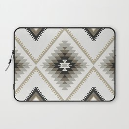 Beige Aztec Laptop Sleeve