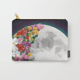 Flower Moon Carry-All Pouch