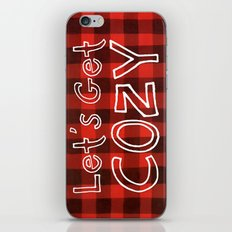Let's Get COZY iPhone & iPod Skin