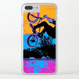 BMX Back-Flip Clear iPhone Case