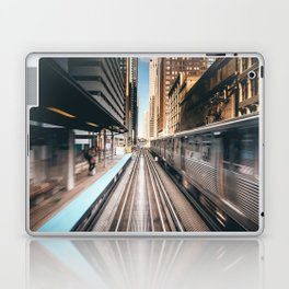 Railway station Laptop & iPad Skin