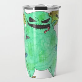 Gambling Oogie Boogie man Travel Mug