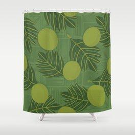 UrbanNesian Ulu Siapo Shower Curtain