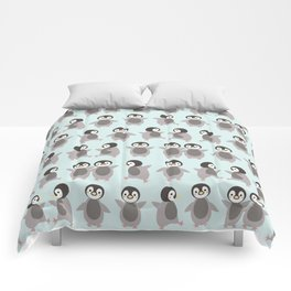 Just penguins Comforters