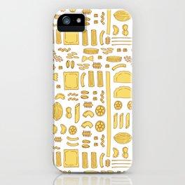 Pasta, a pattern. iPhone Case