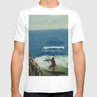The Cove MEDIUM White Mens Fitted Tee