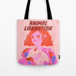 Animal Liberation Tote Bag