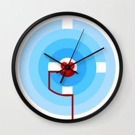 Inner Treasure Wall Clock