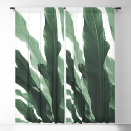 Banana Leaves Jungle #1 #tropical #decor #art #society6 Blackout Curtain