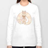 mom Long Sleeve T-shirts featuring Mom by Berneri