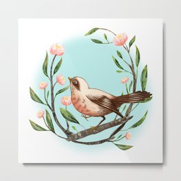 Spring Is Forever In My Heart Metal Print