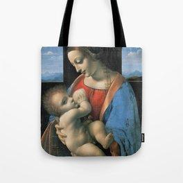 """Leonardo da Vinci """"Madona Litta"""" Tote Bag"""