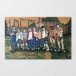SANDLOT Canvas Print