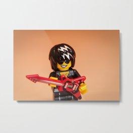 Rock And Roll Rocker Metal Print