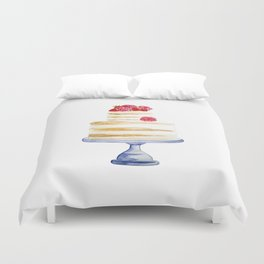 Berries cake Duvet Cover