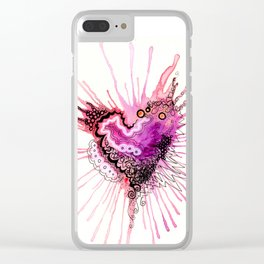 Valentine Clear iPhone Case