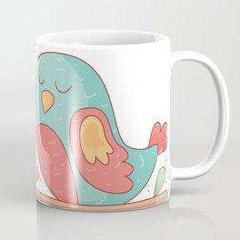Watercolor Cute Birds Coffee Mug