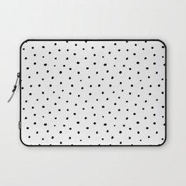 Polka Dots in Love Laptop Sleeve