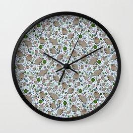 Quokka Design Wall Clock