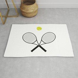 Tennis Racket And Ball 2 Rug
