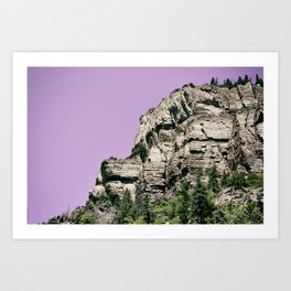 Trail Head Art Print