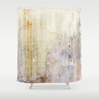 cracked Shower Curtains featuring Cracked Wall by Bestree Art Designs