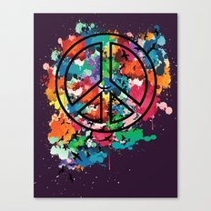 Peace & Freedom Canvas Print