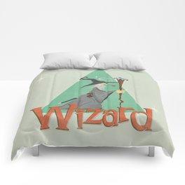 Grey Wizard Comforters