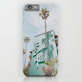 beverly hills / los angeles, california iPhone Case