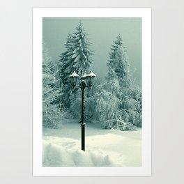 Visiting Narnia Art Print