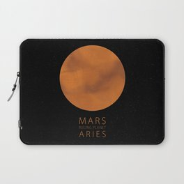 Aries - Ruling Planet Mars Laptop Sleeve