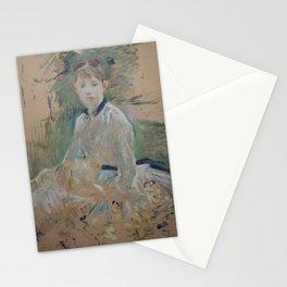 Portrait de Mlle Lambert Stationery Cards