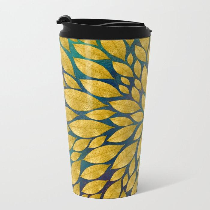 Petal Burst #18 Metal Travel Mug