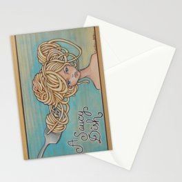 A Saucy Dish Stationery Cards